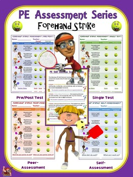 PE Assessment Series: Forehand Strike- 4 Versions