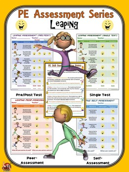 PE Assessment Series: Leaping- 4 Versions