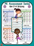 PE Assessment Series: One Foot Hopping- 4 Versions
