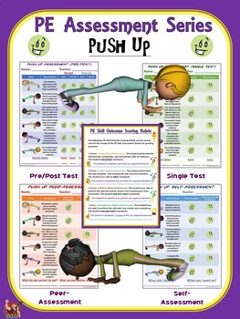 PE Assessment Series: Push up- 4 Versions
