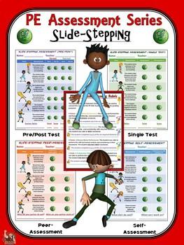 PE Assessment Series: Slide-Stepping- 4 Versions