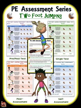 PE Assessment Series: Two Foot Jumping- 4 Versions