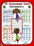 PE Assessment Series: Underhand Roll- 4 Versions