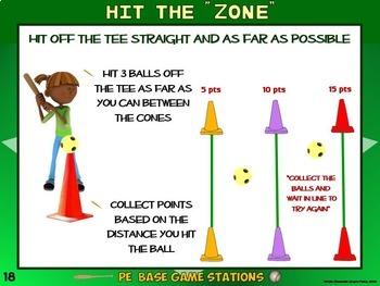 "PE Base Game Stations- 20 ""Grand Slam"" Zones"