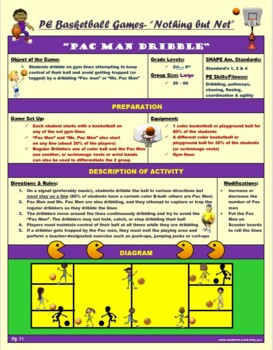 """PE Basketball Games-  """"Nothing but Net"""""""