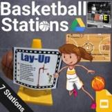 PE Basketball Station Signs (Google Slides)
