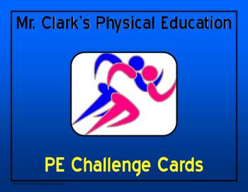 PE Challenge Cards