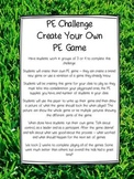 PE Challenge - Create Your Own PE Game