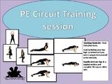 PE Circuit training session