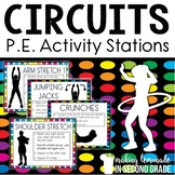 P.E. Circuits {Exercise Activity Stations}
