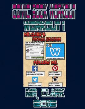 PE Comic Book Workout 1