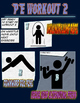 PE Comic Book Workout 2
