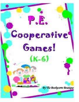 P.E. - Cooperative Games!