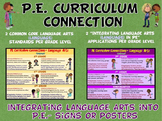 PE Curriculum Connection: Integrating Language Arts (Langu