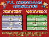 PE Curriculum Connection: Integrating Language Arts (Speak