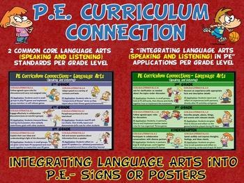 PE Curriculum Connection: Integrating Language Arts (Speak