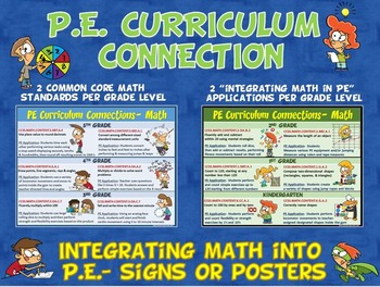 PE Curriculum Connection: Integrating Math into PE