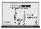 PE Dept - Fitness & HRF - Royal Navy Teaching Guide & Student Worksheets