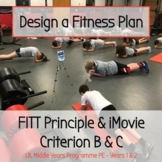 Advanced PE Design a FITTness Routine - FITT Principle, IB