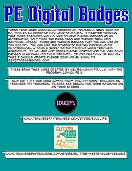PE Digital Badges