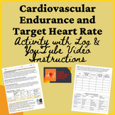 PE Distance Learning Cardiovascular Endurance, Heart Rate,