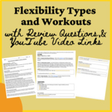 PE Distance Learning Flexibility Information, Types, Work-
