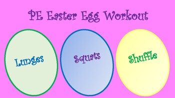PE Easter Egg Workouts