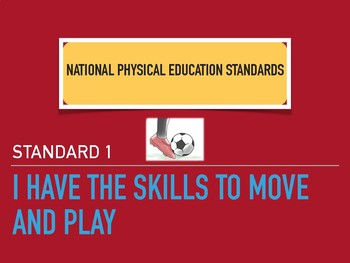 PE: Easy to Read NASPE Standards