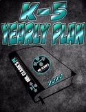 PE Elementary Physical Education K-5 Yearly Plan 8