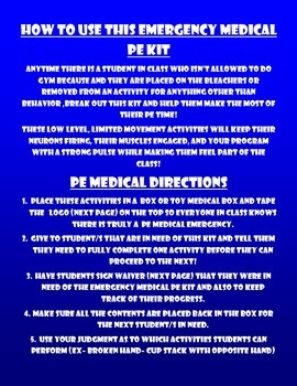 PE Emergency Kit