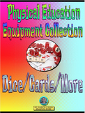 PE Equipment Collection Dice, Cards, and More