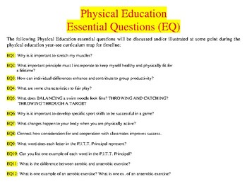 physical education