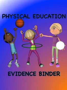PE Evidencr Binder Inserts for Danielson's Framework - Pur