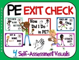 PE Exit Check- 4 Self-Assessment Visuals- Baseball Version
