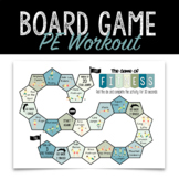PE Fitness Game Board | PHE Distance Learning