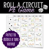 PE Fitness Game: Roll A Circuit | Distance Learning at Home