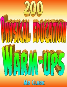 PE Fitness, Warm-Up, and Games Bundle
