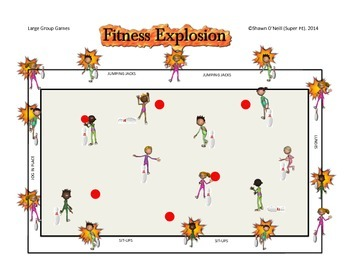 "Super PE Game - ""Fitness Explosion"""