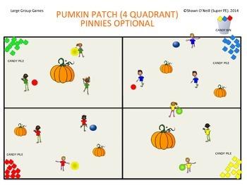 "Super PE Game - Halloween - ""Pumpkin Patch"""
