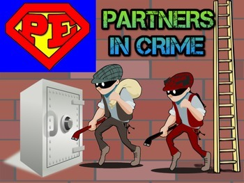 "Super PE Game - ""Partners In Crime"""