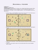 PE Game Sheet: Beachball Kickers