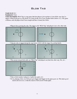 PE Game Sheet: Blob Tag