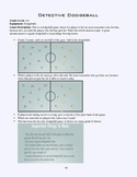 PE Game Sheet: Detective Dodgeball