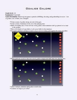 PE Game Sheet: Goalies Galore