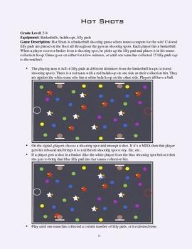 PE Game Sheet: Hot Shots