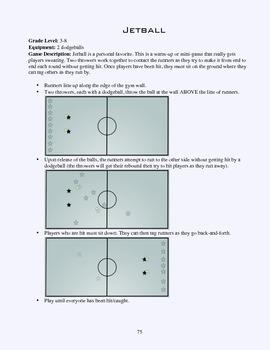 PE Game Sheet: Jetball