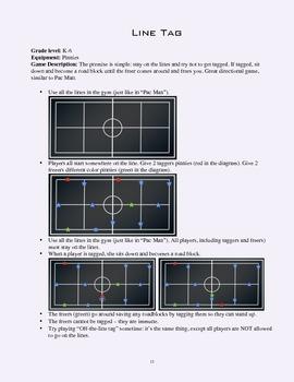PE Game Sheet: Line Tag