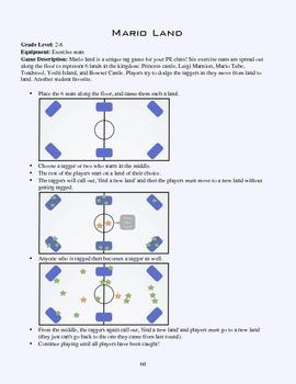 PE Game Sheet: Marioland