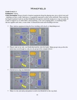 PE Game Sheet: Minefield