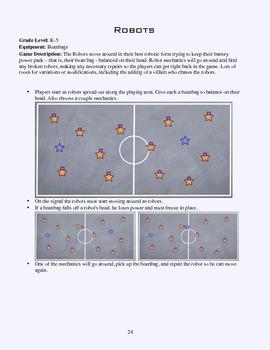 PE Game Sheet: Robots